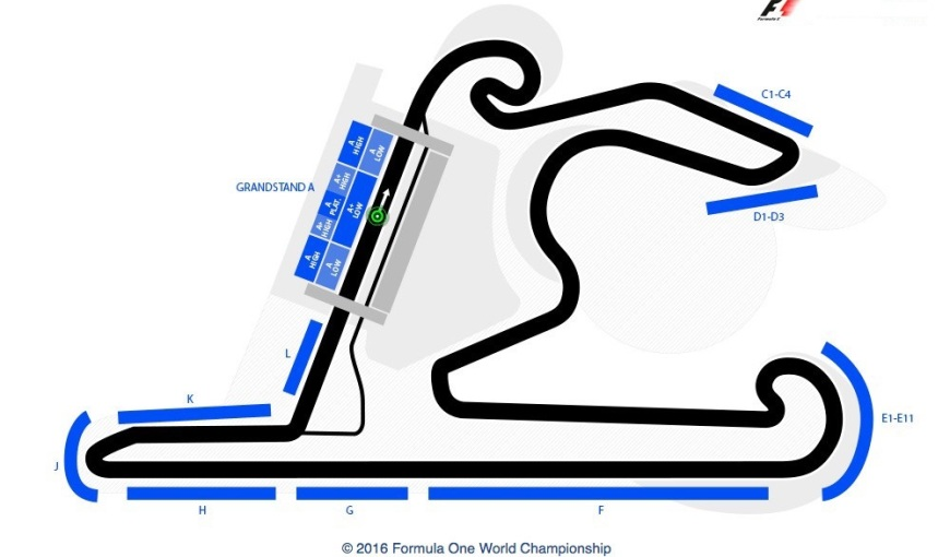 Chinese Circuit Map