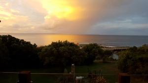 Stormy sunset Pitt Island